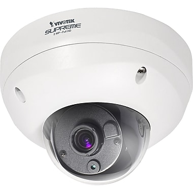 VIVOTEK FD8362E Extreme Weatherproof Dome Network Camera With Day/Night, 1/2.7in. CMOS