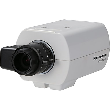 Panasonic® WV-CP310 Fixed Analog Camera With Electrical Day/Night, 1/3in. CCD