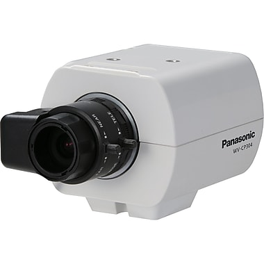Panasonic® WVCP304 Fixed Analog Camera With Electrical Day/Night, 1/3in. CCD