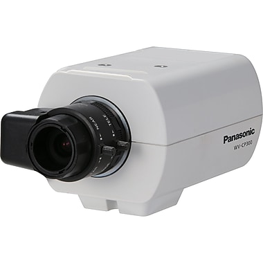 Panasonic® WV-CP300 Fixed Analog Camera With Day/Night, 1/3in. CCD