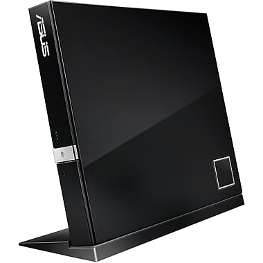 Asus® SBW-06D2X-U External Blu-Ray Writer, Black