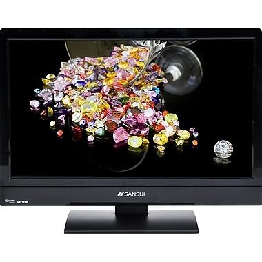 Sansui® Accu SLEDVD197 19-inch Diagonal 720p LED TV/DVD HDTV Combo With 1 HDMI, Black