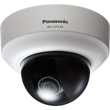 Panasonic® WV-SF539 i-Pro SmartHD Super Dynamic Dome Network Camera With Day/Night, 1/3in. MOS