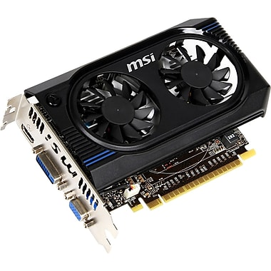 msi™ GeForce GT 640 1GB PCI-Express 3.0 Plug-In Graphic Card