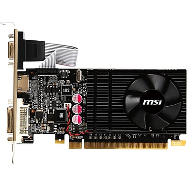 msi™ GeForce GT 610 1GB PCI-Express 2.0 Plug-In Graphic Card