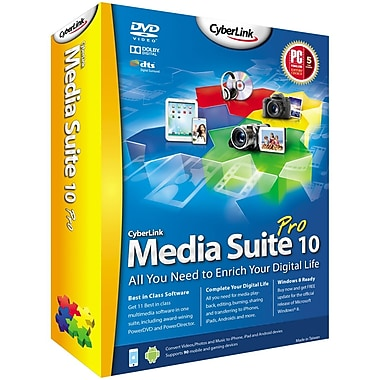 Cyberlink MES-EA00-RPR0-00 Media Suite v.10.0 Pro Software