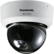Panasonic® WV-CF634 Super Dynamic 6 Fixed Analog Dome Camera With Day/Night, 1/3 CCD