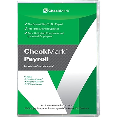 Channel Sources Checkmark Payroll Win/Mac CROM Software