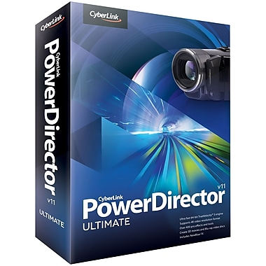 Cyberlink PDR-EB00-RPM0-00 PowerDirector v.11.0 Ultimate Video Editing Software