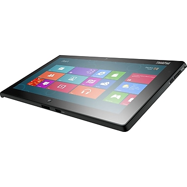 Lenovo™ 36822AU ThinkPad Tablet 10.1in. 2 64GB Net-Tablet PC, Windows 8 Pro