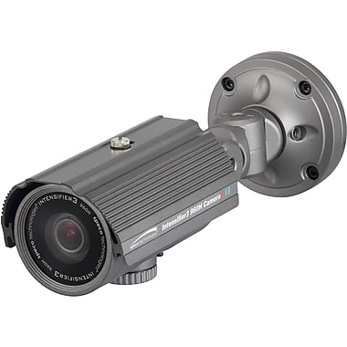 speco technologies® HTINTB8H IntensifierH™ Series Indoor/Outdoor Bullet Camera, Dark Gray