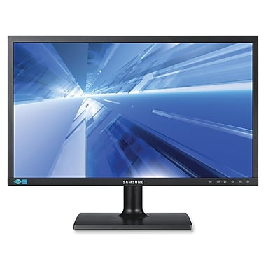 Samsung 200 Series 21 1/2in. Widescreen LED LCD Monitor, Matte Black
