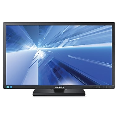 Samsung 450 Series 24in. Widescreen LED LCD Monitor, Matte Black