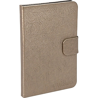 Verbatim® Folio Case For Kindle Fire, Bronze