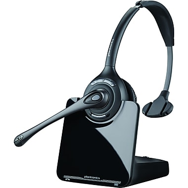 Plantronics® CS510-XD Binaural Over The Head Headset W/Mic