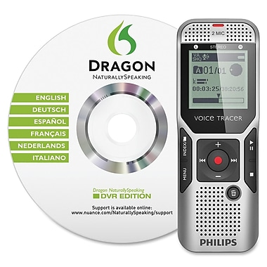 Philips DVT1700/00 4GB Speech Voice To Text Digital Recorder