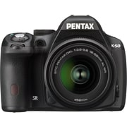 Pentax® K-500 16.3 Megapixel 18 - 55mm Lens Digital SLR Camera, Black