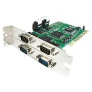Startech.com® PCI4S550N 4 Port PCI RS232 Serial Adapter Card With 16550 UART