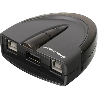 Iogear – Serveur d'impression Gub231 à 2 ports USB 2.0 à commutateur de partage automatique