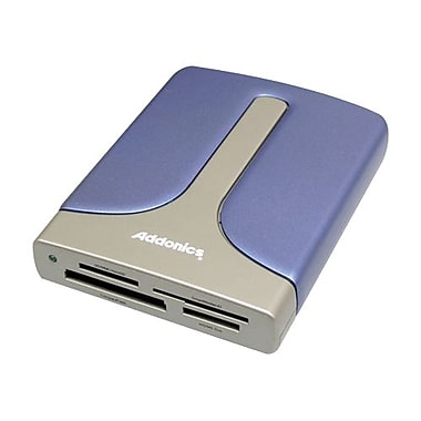 Addonics® 15-in-1 Flash eSATA/USB 2.0 Card Reader/Writer