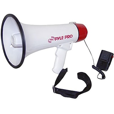 Pyle® PMP40 Professional Megaphone/Bullhorn With Siren and Handheld Mic