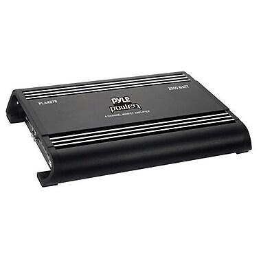 Pyle® Academy 2000W 4 Channel Bridgeable Mosfet Car Amplifier, Black