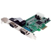 Startech.com® PEX2S553 2 Port Native PCI-Express RS232 Serial Adapter Card
