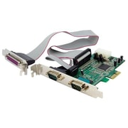 Startech.com® PEX2S5531P 2S1P Native PCI-Express Parallel Serial Combo Card