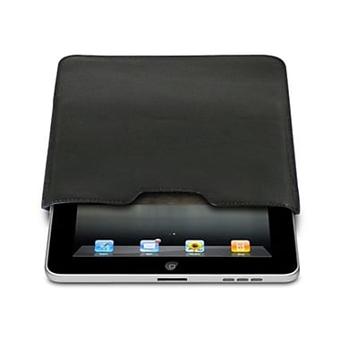 Premiertek® Leather Sleeve Pouch Case For Apple iPad and iPad 2, Black