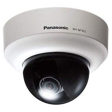 Panasonic® WV-SF332 Fixed Dome Network Camera With Day/Night, 1/3in. MOS