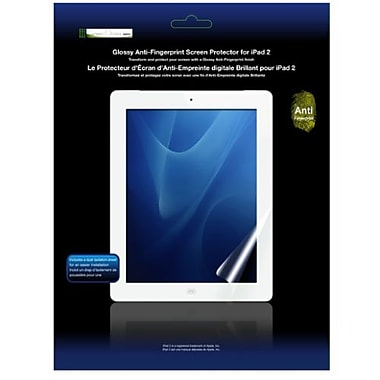 Green Onions Supply® RT-SPIPAD201AF Anti Fingerprint Screen Protector F/iPad 2/3rd Gen 2012, Clear