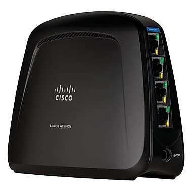 Linksys® WES610N  Dual-Band Wireless-N Entertainment Bridge