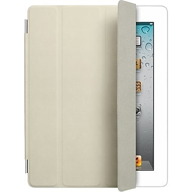 Apple® Smart Cover Leather Tablet PC Case For Apple® iPad 2, Cream