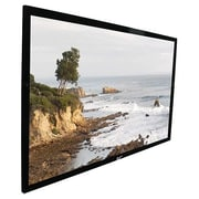 Elite Screens® SableFrame Series 135 Projection Screen, 16:9, Black Casing