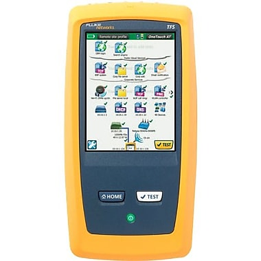 Fluke Networks® OneTouch™ 1T-1000 AT Network Assistant With The Copper/Fiber LAN Option