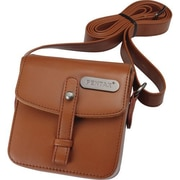 Pentax® 85234 Q Vintage Leatherette Shoulder Bag, Brown