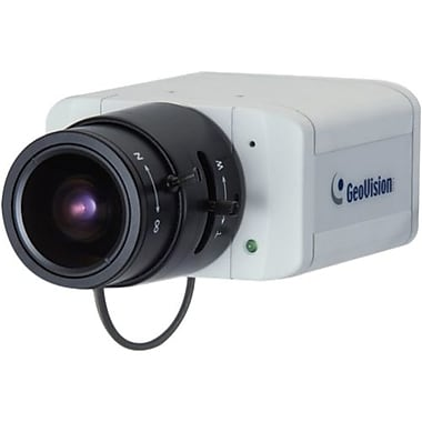 GeoVision GV-BX140DW Network Camera With Verifocal Lens, 1/3in. CMOS