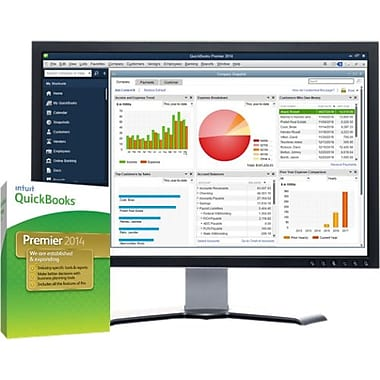 Intuit® QuickBooks 2014 Premier Industry Edition Software, 1 User