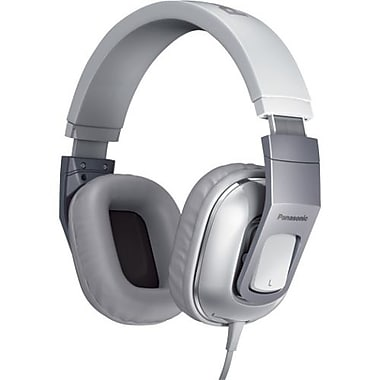 Panasonic® Monitor Street Band RP-HT480C Headphone With Remote and Mic, White