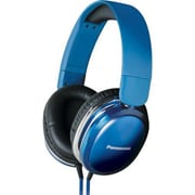 Panasonic® Monitor Street Band RP-HX450C Headphone With Remote and Mic, Blue