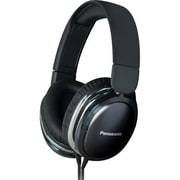 Panasonic® Monitor Street Band RP-HX450C Headphone With Remote and Mic, Black