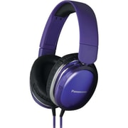 Panasonic® Monitor Street Band RP-HX450C Headphone With Remote and Mic, Purple