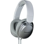 Panasonic® Monitor Street Band RP-HX450C Headphone With Remote and Mic, White