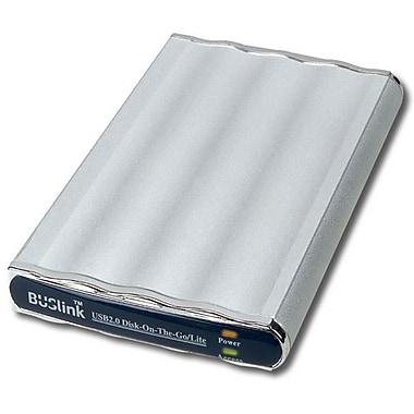 Buslink™ Disk-On-The-Go 80GB USB 2.0 2.5in. Slim External Hard Drive