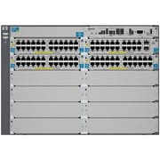 HP® E5400 zl E5412-92G-PoE+/2XG-SFP+ Managed Gigabit Ethernet Switch Chassis, 92 Port (J9532A#ABA)
