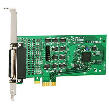 Brainboxes PX-346 4 Port RS422/485 PCI-Express Serial Adapter