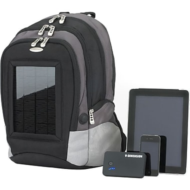 V-Dimension Raptor XL5000 Solar Tablet Backpack