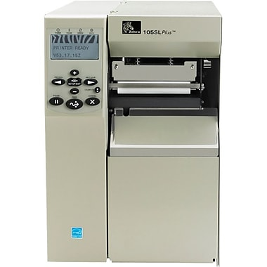 Zebra® 105SLPlus 203 dpi 12.01 In/s Label Printer Thermal Transfer/Direct Thermal