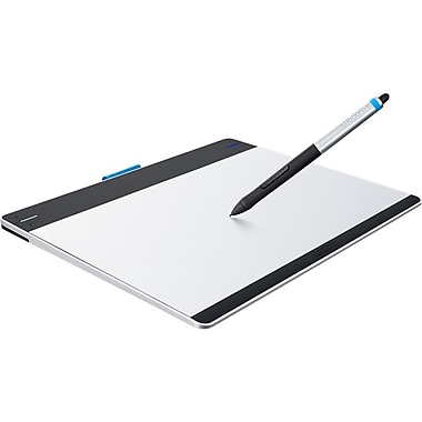 WACOM® Intuos CTH680 Graphics Pen Tablet, Silver/Black