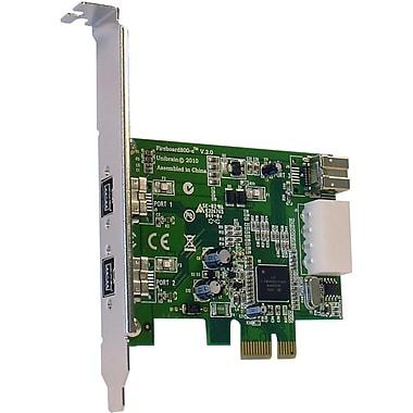 Unibrain FireBoard800-e 1232 V.2 3 Port FireWire Adapter